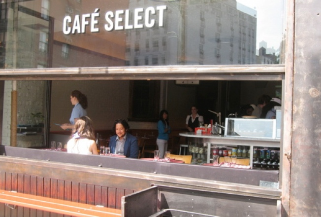 Certified Open: Serge Becker's Cafe Select