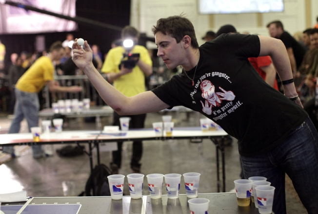 Smashing Time Wins World Series of Beer Pong