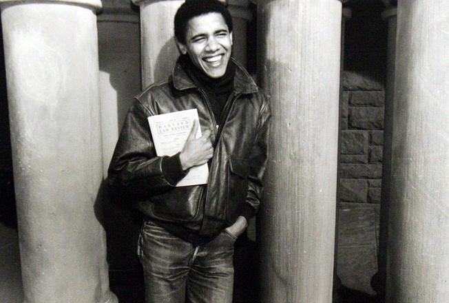 College Buds: 20 Harvard Classmates Advising Obama
