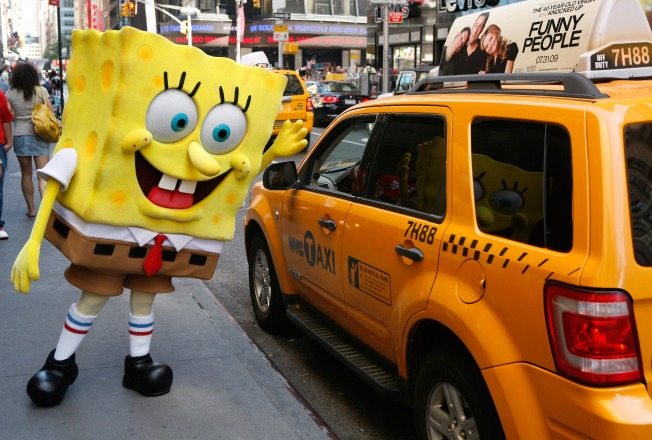 Girl Thanks Spongebob Squarepants for Helping Her Save Choking Friend