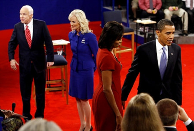 Political Style Wars: Michelle's Dress vs. Cindy's Suit