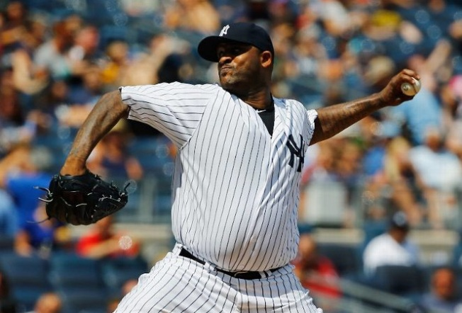 Sabathia Hurt as Yankees Lose to Indians, 4-3