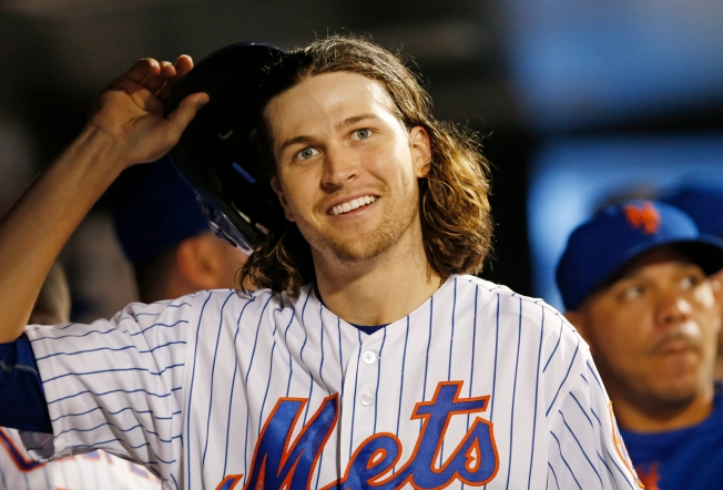 DeGrom Dominates Early, Survives Rocky 7th to End Mets' Skid