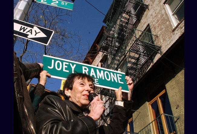 Joey Ramone Street Sign Is Most-Stolen in NYC