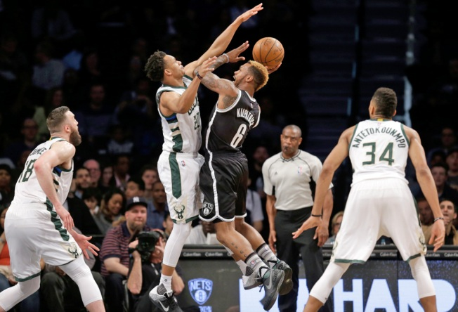 Nets Toppled by Bucks 109-100