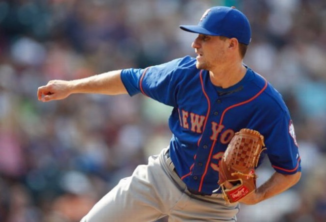 Verrett Pitches Mets to 5-1 Victory Over Rockies