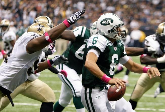 Sanchez Stumbles as Jets Lose
