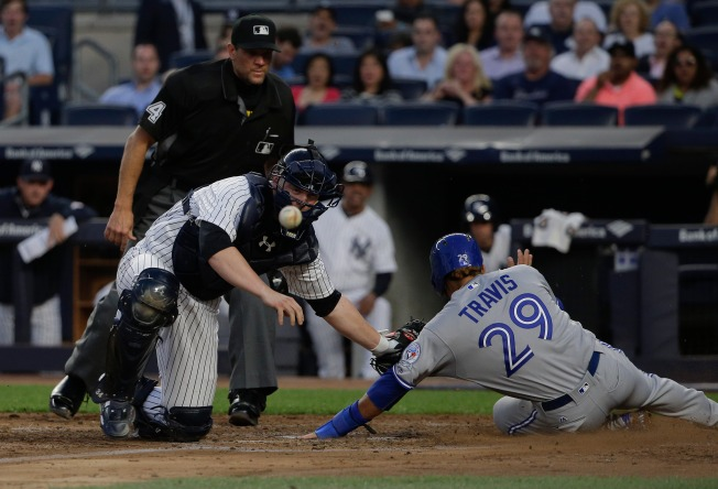 Yankees Fall to Blue Jays 8-4