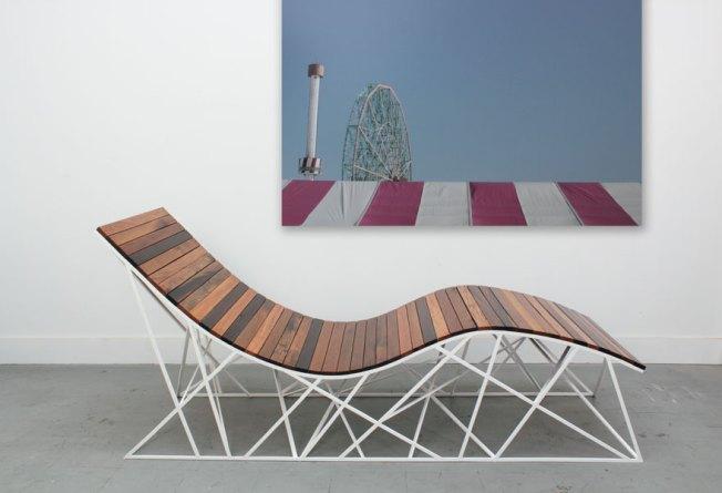 Walk Coney Island's Boardwalk, Then Make it a Chaise Lounge