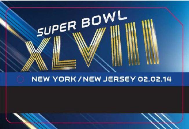 MetroCard Machines Randomly Dispensing Super Bowl-Themed Cards