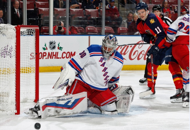 Nash Leads Rangers to 5-4 OT Win Over Panthers