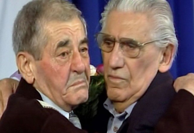 Holocaust Survivor, Polish Rescuer Reunited