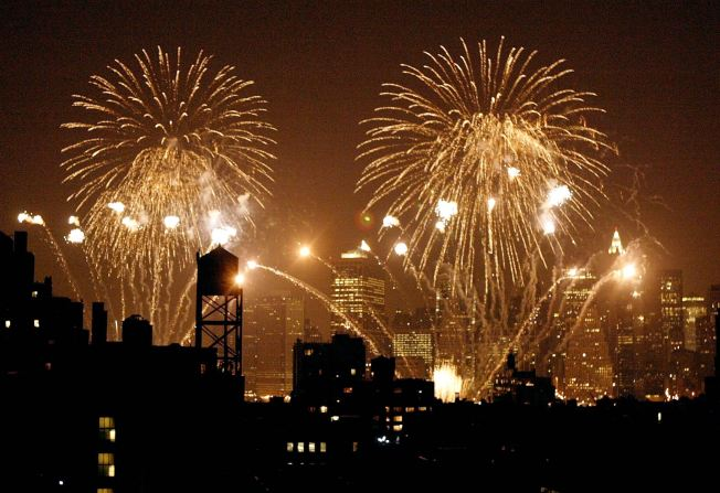 4th of July Fireworks Head to Hudson