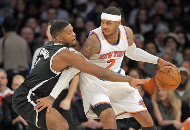 Knicks Return to .500 With Win Over Nets