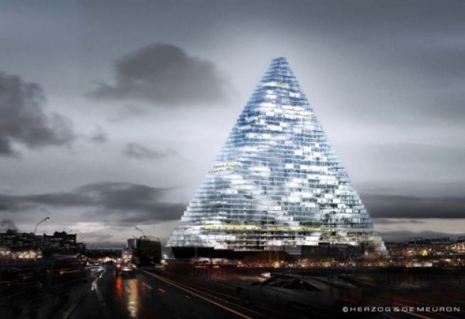 Architecture Watch: Herzog & de Meuron's Parisian Pyramid