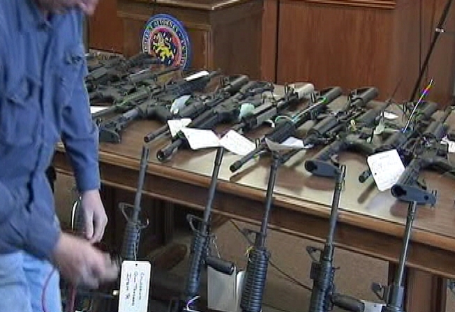 9 L.I Gun Shop Employees Charged With Selling Assault Weapons