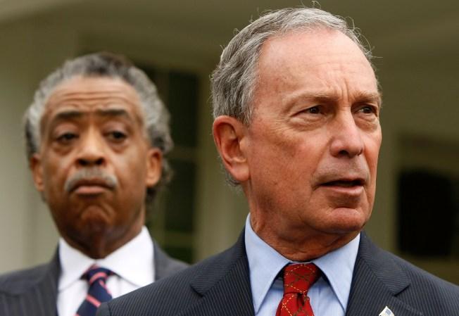 Bloomberg Tells Sharpton to Keep a Low Profile During Haiti Visit