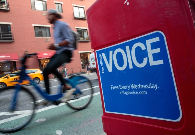 The Village Voice Suspends Editorial Production: Report