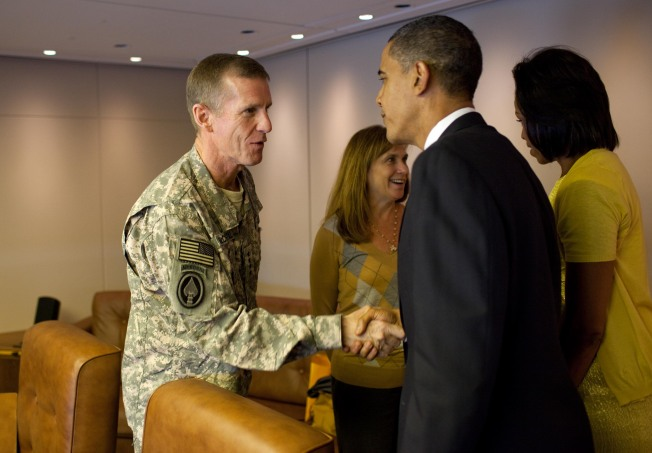 Fired or Forgiven: McChrystal Faces the Boss