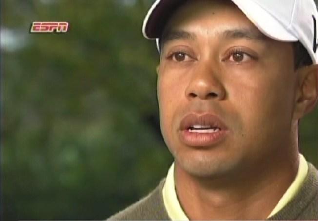 Tiger Woods' Five Minutes of Shame