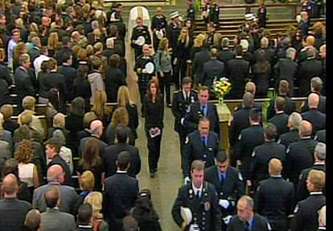 Thousands Turn Out for Funeral of Yonkers Firefighter
