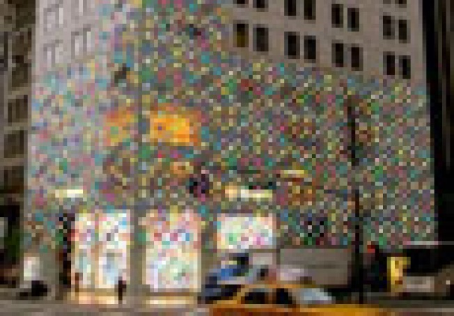 Vuitton Monogram Overload: The Louis Vuitton flagship on Fifth...