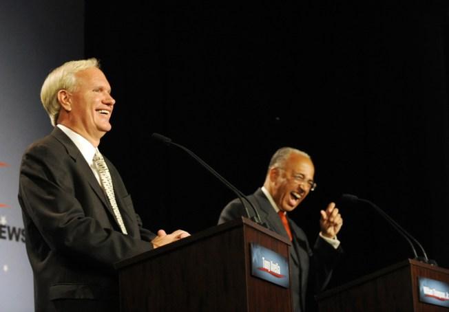 Dems Mayoral Debate Focuses on Money, Mike