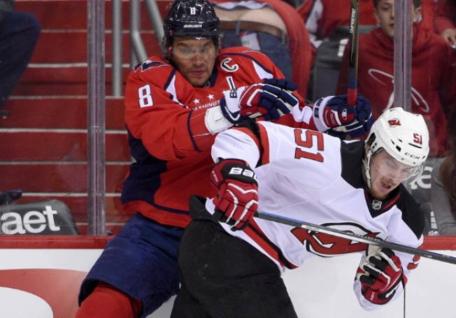 Devils Lose 4-3 to Streaking Capitals