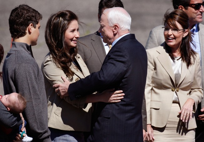 Get Off Palin's Back, Says McCain