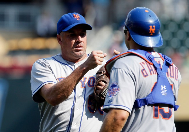 Mets Top Twins 6-1 in Makeup as Gibson Sent Down