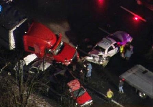 Tractor-Trailer Accident Snarls Traffic on Rt. 80