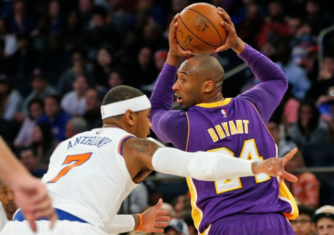 Melo, Knicks Crush Lakers, 99-95