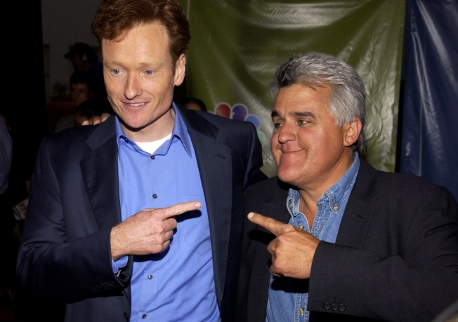 "Conan O'Brien ""Thrilled"" for Leno"