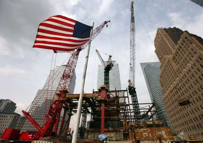 1 World Trade Center Reaches 20th-Floor Level