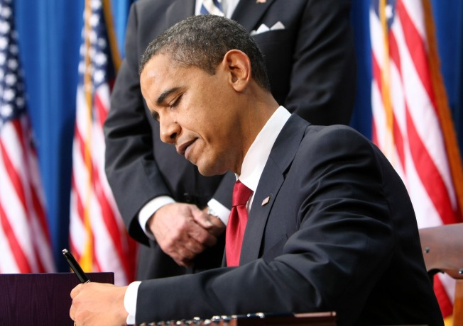 Obama Signs Historic $787 Billion Stimulus