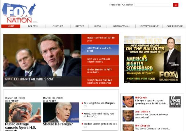 Fox News Launches TheFoxNation.Com