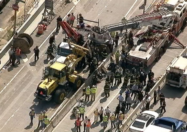 Deadly Crane Accident Shuts Down Throgs Neck