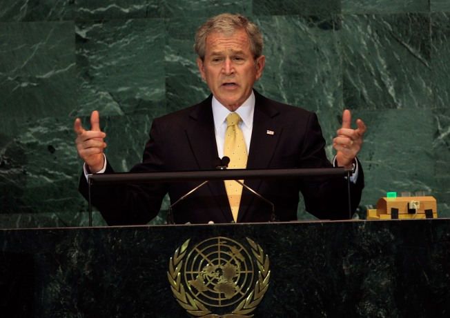 Bush Speech Sets Tone for Summit