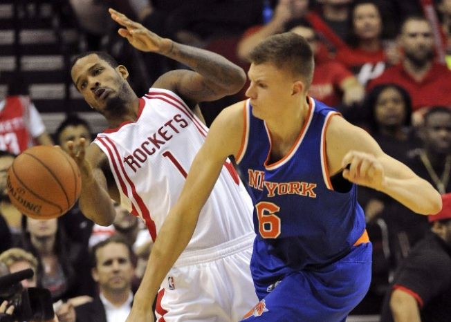 Porzingis Dominates in Knicks' 107-102 Victory over Rockets
