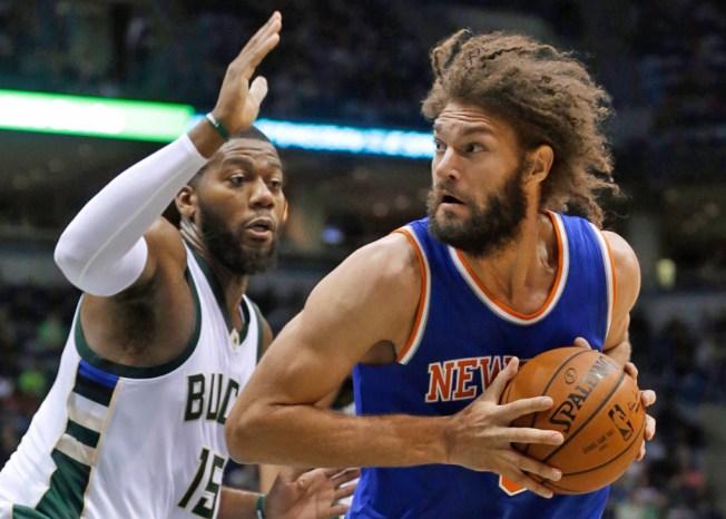 Knicks Trampled by Bucks 106-91