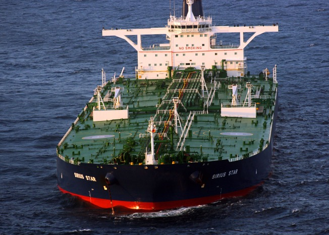 Pirates Ransom Three Ships, But a Hijacked Supertanker is the Big Prize