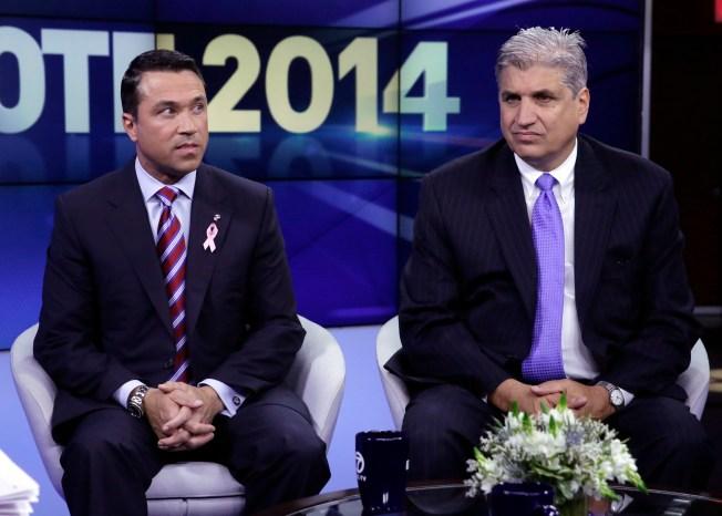 Grimm, Recchia Meet in Staten Island House Race Final Debate