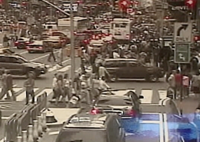 A Tale of Two Videos in Times Square Bomb Scare
