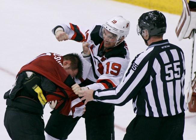 Schneider, Devils Shut Down Coyotes 2-0