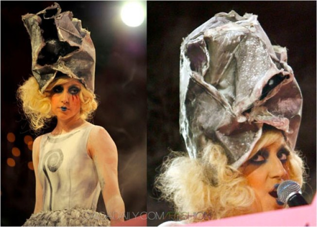 Frank Gehry Designs Hat For Lady Gaga