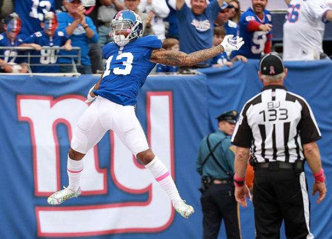 Giants Snap Three-Game Losing Streak With Late Touchdown From Odell Beckham Jr.