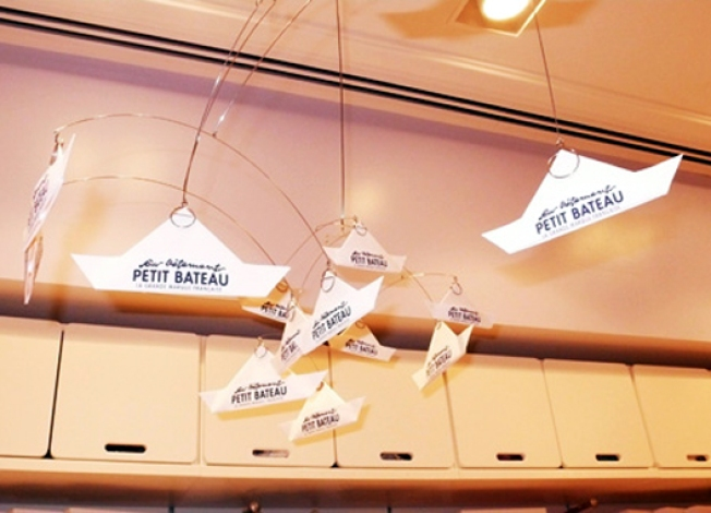Renovations: Petit Bateau Appeals to Homebodies