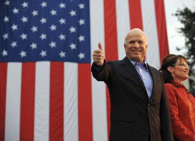 McCain fundraising adapts to Palin's star