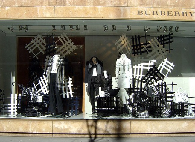 It's Raining Nova Check at Burberry