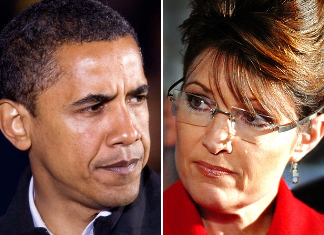 Palin, Obama to share stage